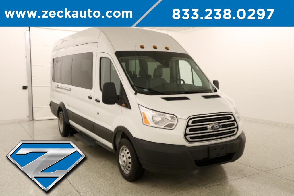 Ford Transit 350 >> Pre Owned 2019 Ford Transit 350 Xlt Hd Med Roof Dual Rear Wheels 3 5l Ecoboost Rwd Passenger Van