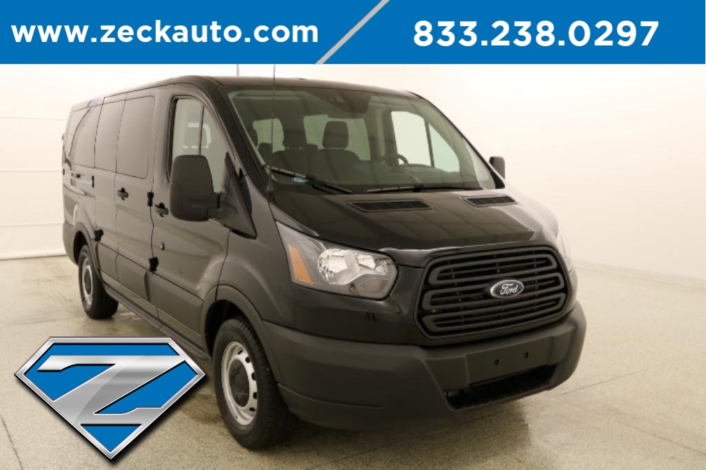 Pre-Owned 2019 Ford Transit-150 XL Low Roof 8 Passenger wagon RWD Passenger  Van
