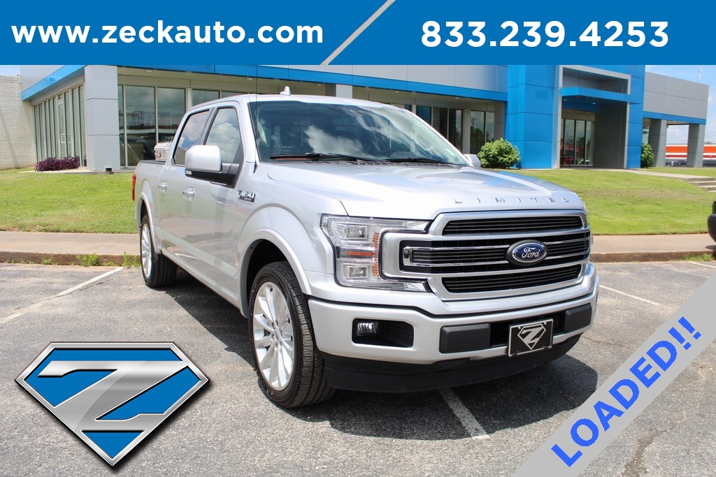 Pre-Owned 2019 Ford F-150 Limited With Navigation