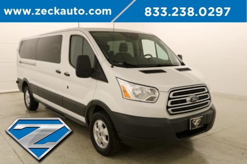 Pre-Owned 2018 Ford Transit-350 XLT Low Roof 15 Passenger Wagon