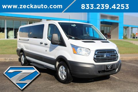 Pre-Owned 2018 Ford Transit-350 XLT Low Roof 12 Passenger Wagon