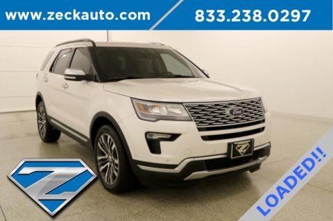 Pre-Owned 2019 Ford Explorer Platinum