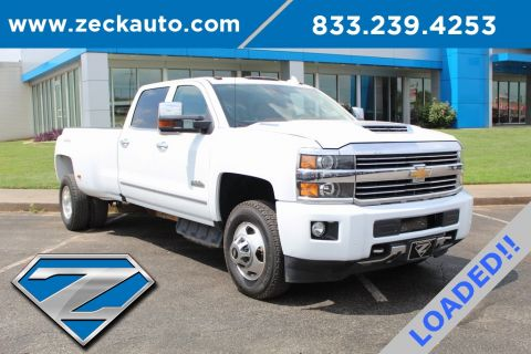 Pre-Owned 2017 Chevrolet Silverado 3500HD High Country